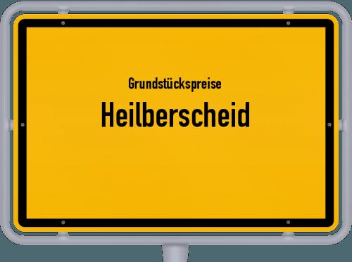 Grundstückspreise Heilberscheid 2019