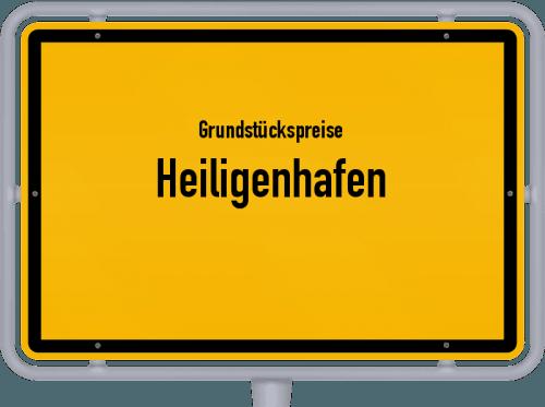 Grundstückspreise Heiligenhafen 2021