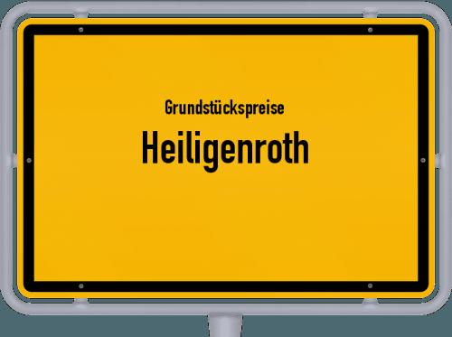 Grundstückspreise Heiligenroth 2019