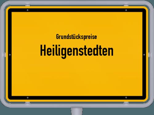 Grundstückspreise Heiligenstedten 2021