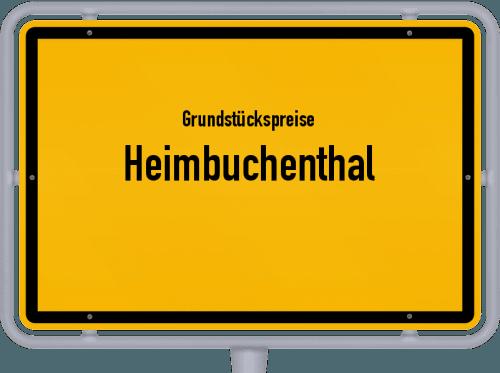 Grundstückspreise Heimbuchenthal 2019