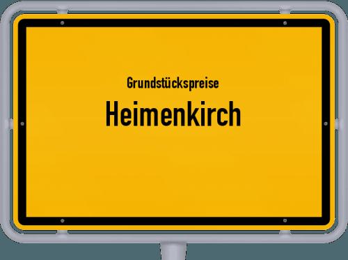 Grundstückspreise Heimenkirch 2021