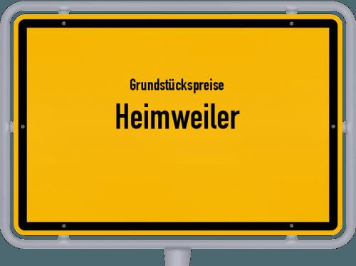 Grundstückspreise Heimweiler 2019