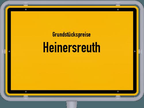 Grundstückspreise Heinersreuth 2019