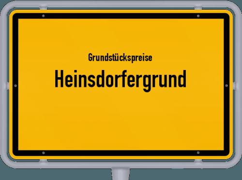 Grundstückspreise Heinsdorfergrund 2019