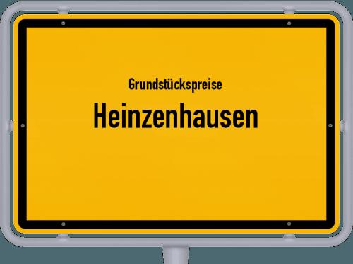 Grundstückspreise Heinzenhausen 2019