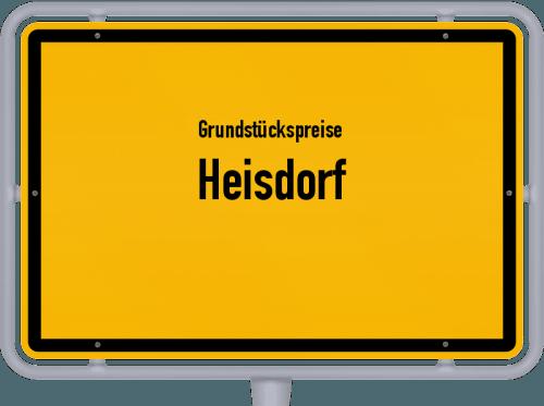 Grundstückspreise Heisdorf 2019