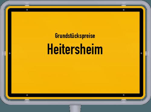 Grundstückspreise Heitersheim 2021