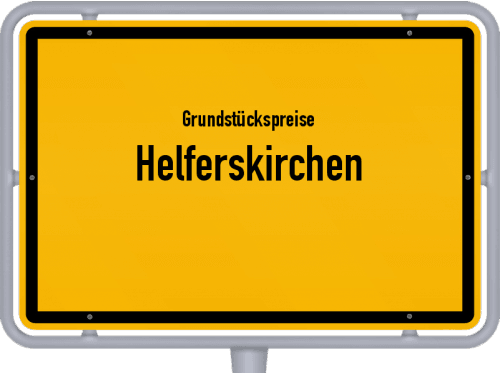 Grundstückspreise Helferskirchen 2019