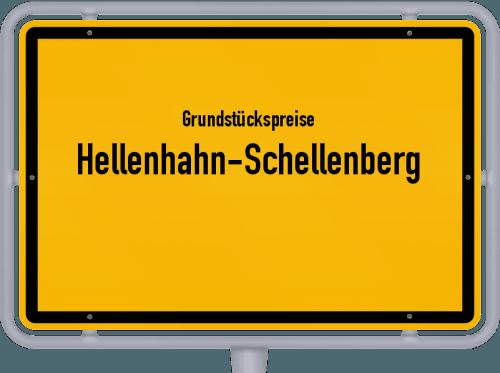 Grundstückspreise Hellenhahn-Schellenberg 2019
