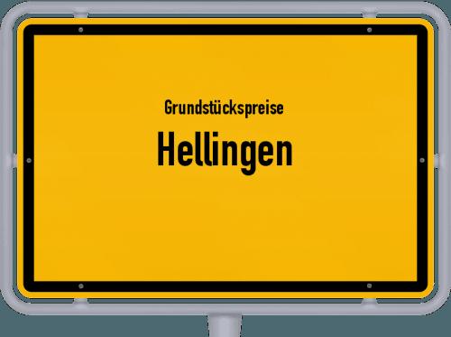 Grundstückspreise Hellingen 2019