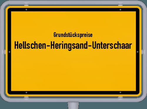 Grundstückspreise Hellschen-Heringsand-Unterschaar 2021