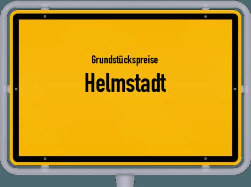 Grundstückspreise Helmstadt 2019
