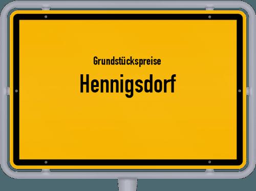 Grundstückspreise Hennigsdorf 2021