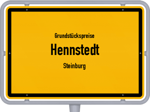 Grundstückspreise Hennstedt (Steinburg) 2021