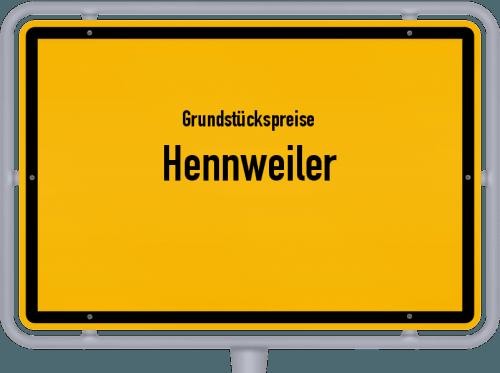 Grundstückspreise Hennweiler 2019