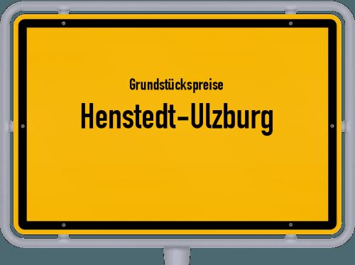Grundstückspreise Henstedt-Ulzburg 2021