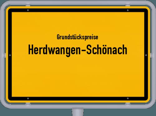 Grundstückspreise Herdwangen-Schönach 2021