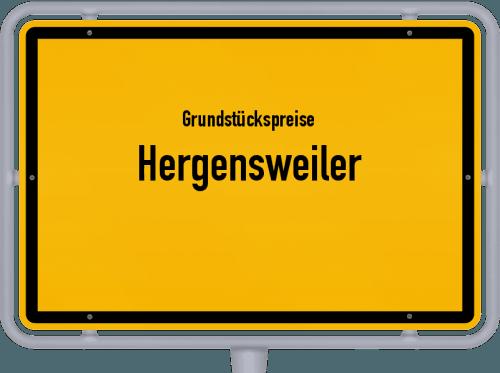 Grundstückspreise Hergensweiler 2019