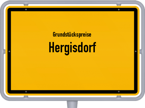 Grundstückspreise Hergisdorf 2021