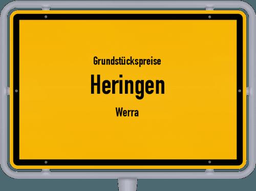 Grundstückspreise Heringen (Werra) 2020