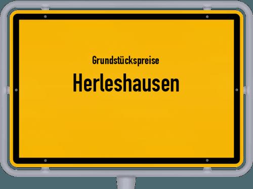 Grundstückspreise Herleshausen 2020