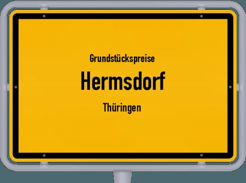 Grundstückspreise Hermsdorf (Thüringen) 2019