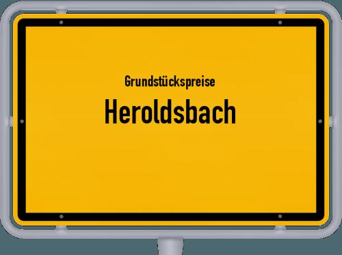 Grundstückspreise Heroldsbach 2019