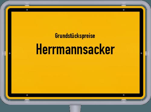 Grundstückspreise Herrmannsacker 2019