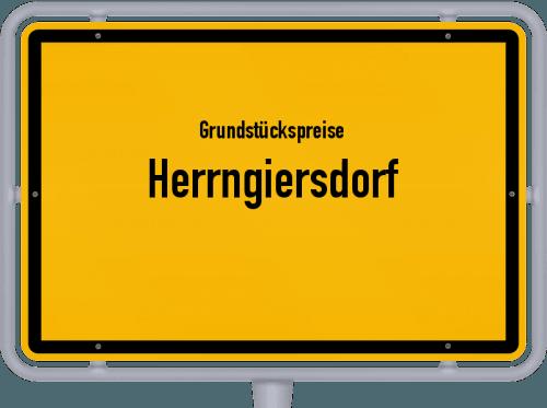 Grundstückspreise Herrngiersdorf 2019