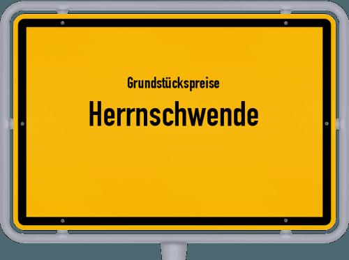 Grundstückspreise Herrnschwende 2019