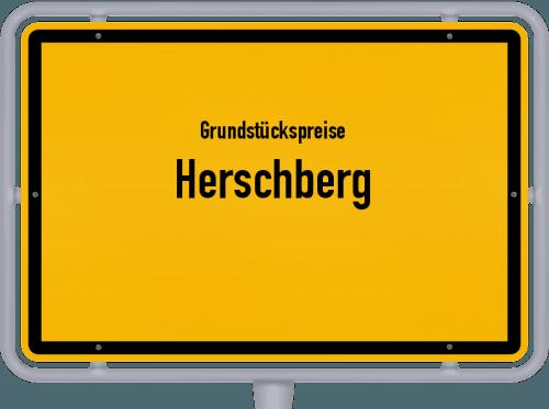 Grundstückspreise Herschberg 2019