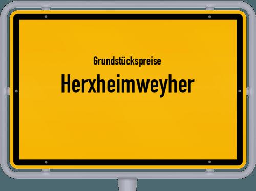 Grundstückspreise Herxheimweyher 2019