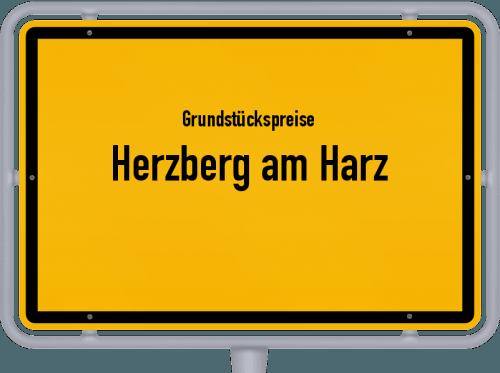Grundstückspreise Herzberg am Harz 2021