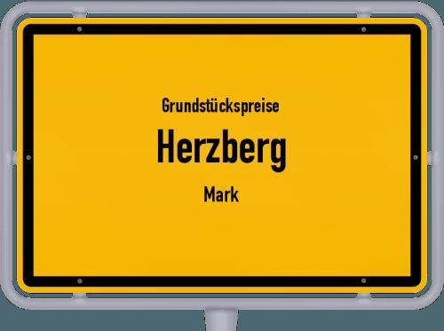 Grundstückspreise Herzberg (Mark) 2021