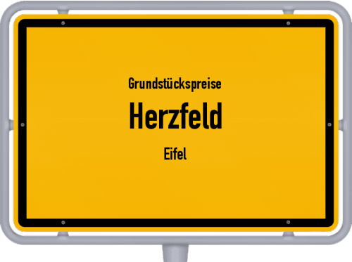 Grundstückspreise Herzfeld (Eifel) 2019