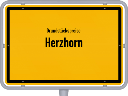 Grundstückspreise Herzhorn 2021