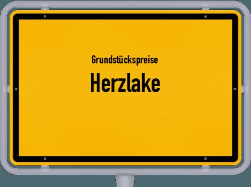 Grundstückspreise Herzlake 2021