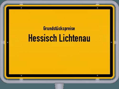Grundstückspreise Hessisch Lichtenau 2019
