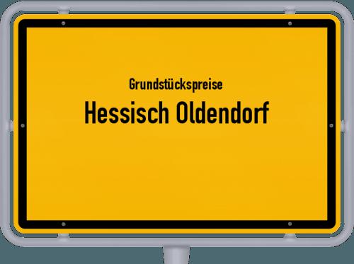 Grundstückspreise Hessisch Oldendorf 2019