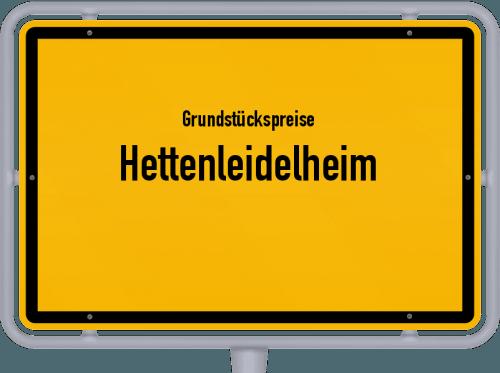 Grundstückspreise Hettenleidelheim 2019