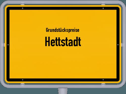 Grundstückspreise Hettstadt 2019