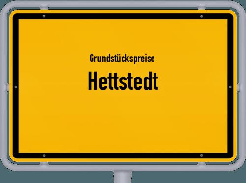 Grundstückspreise Hettstedt 2021