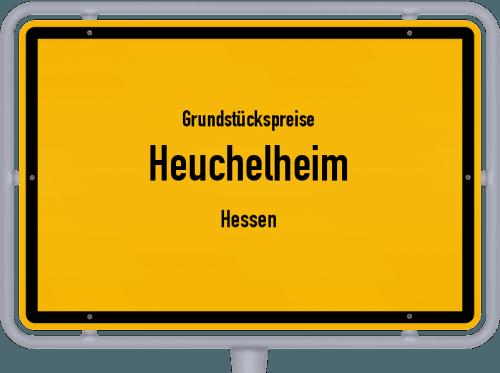 Grundstückspreise Heuchelheim (Hessen) 2018
