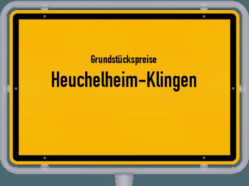 Grundstückspreise Heuchelheim-Klingen 2019