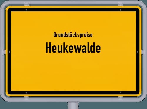 Grundstückspreise Heukewalde 2019