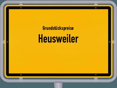 Grundstückspreise Heusweiler 2021
