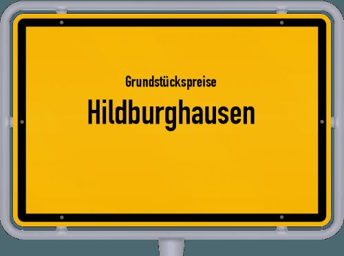 Grundstückspreise Hildburghausen 2018