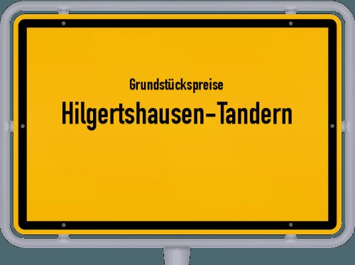 Grundstückspreise Hilgertshausen-Tandern 2019
