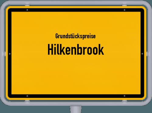 Grundstückspreise Hilkenbrook 2019